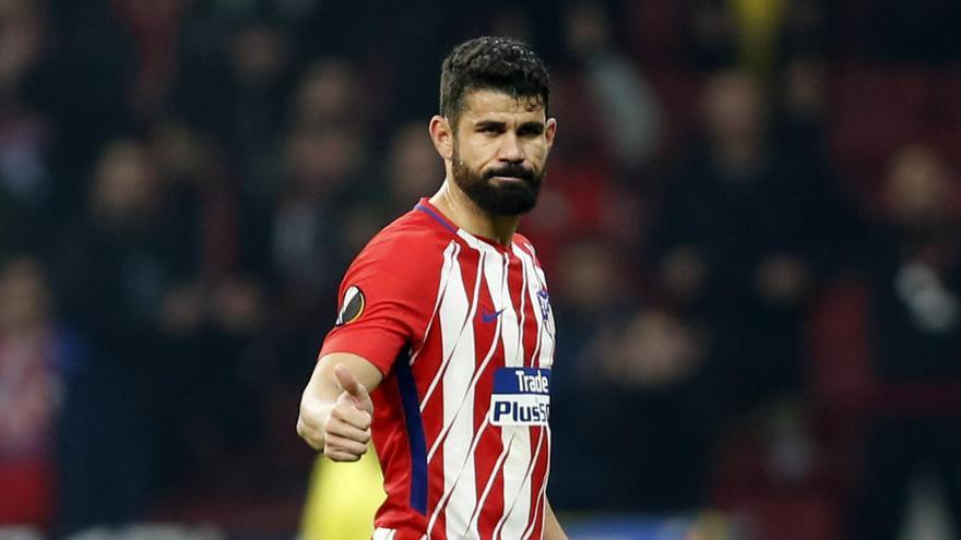 Diego Costa y Arias, positivos por coronavirus en el Atlético