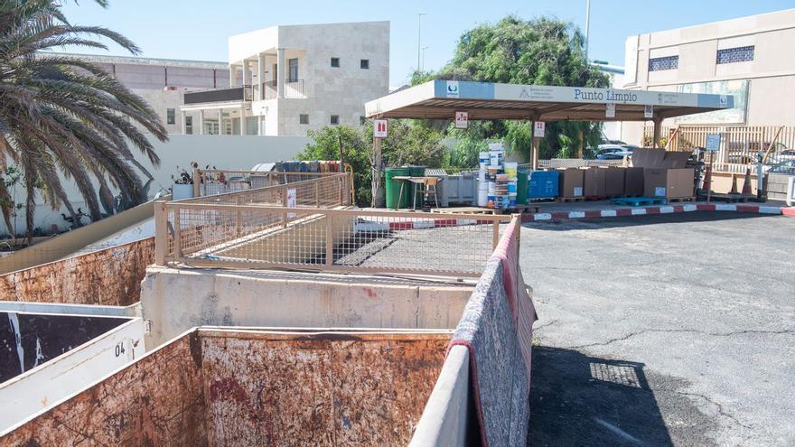 Los puntos limpios del Cabildo incrementan su capacidad hasta 500 kilos de escombros al día
