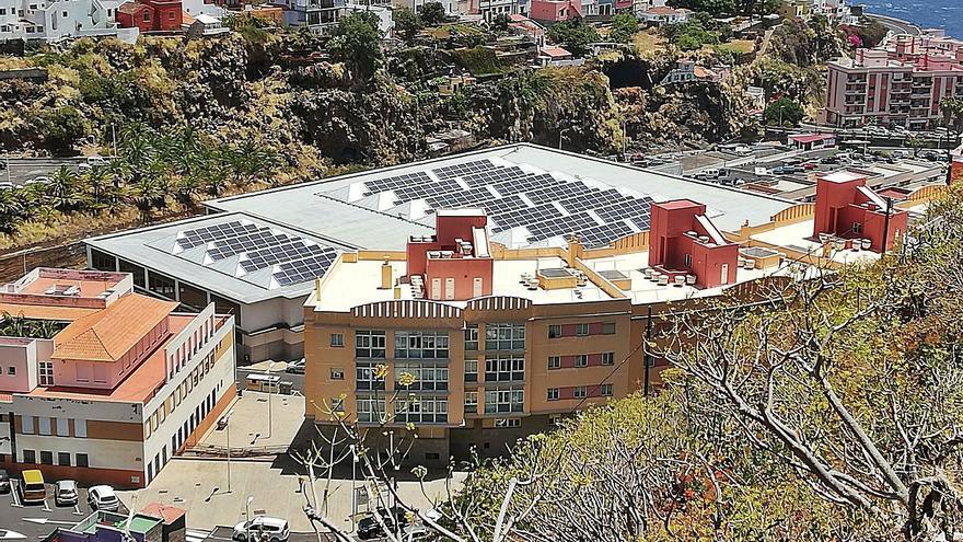El parque fotovoltaico del pabellón Rodríguez Estrello, cero energético