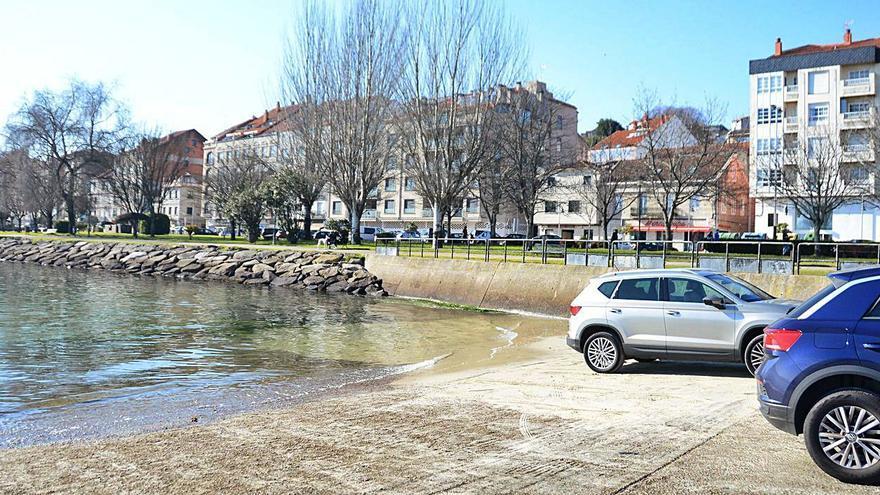 Las mareas que más preocupan en Moaña.
