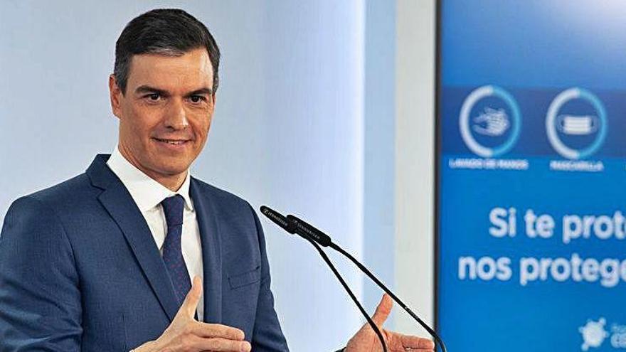 Sánchez recepta «coherència» a l'oposició i no cedeix: «L'alarma és el passat i cal mirar al futur»