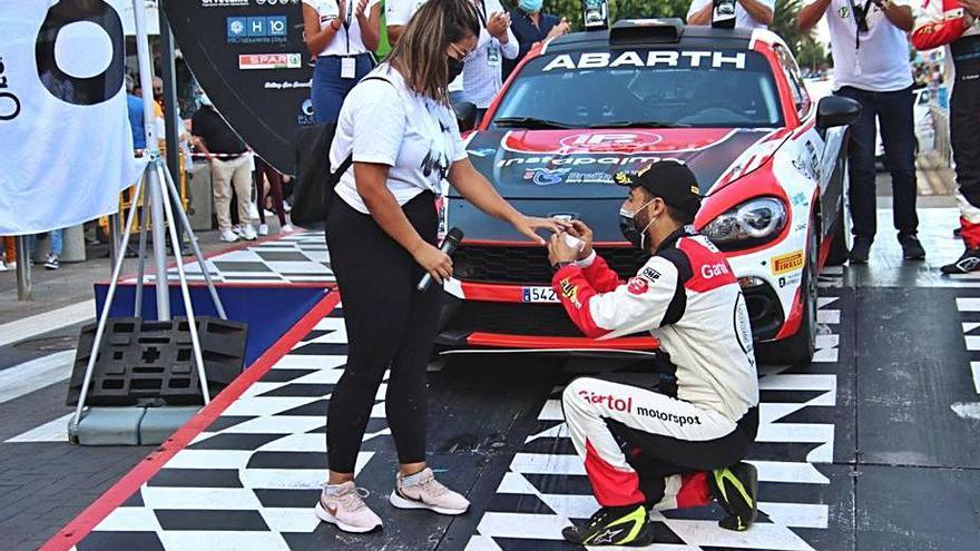 Victoria de principio a fin para el Abarth 124 Rally de Carlos García y Jordi Díaz