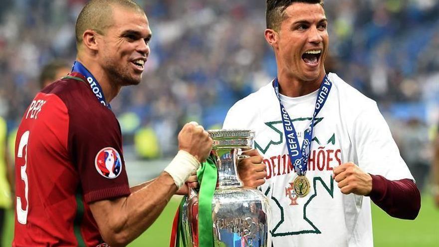"""Pepe, mejor jugador de la final: """"Cristiano nos dijo que teníamos que ganar por él"""""""