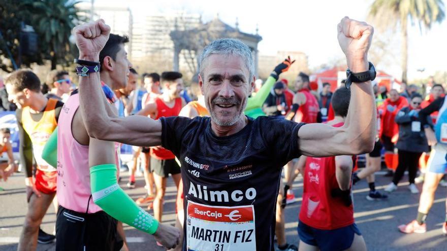 Martín Fiz bate en València el récord del mundo de 10K para mayores de 55 años