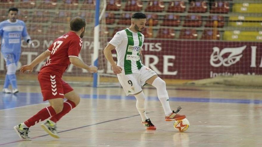 El Córdoba Futsal renueva a su pichichi David Leal
