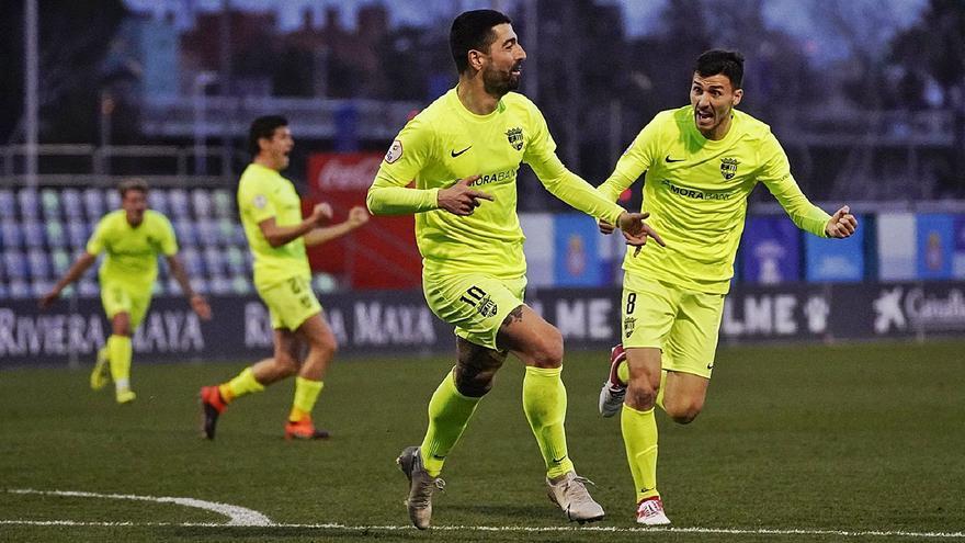 El Andorra jugará contra el Alcoyano y el Badalona se mide con el Hércules y La Nucía