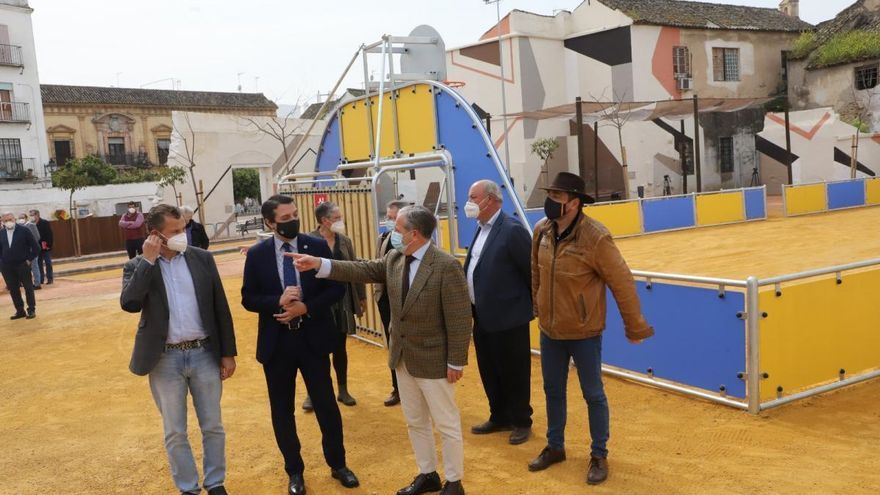 El Ayuntamiento abre el remodelado espacio del Cine Andalucía con juegos y zona deportiva