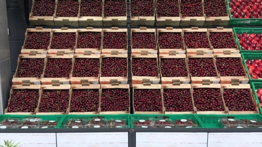 Mercadona compra 1.720 toneladas de cerezas aragonesas para su venta