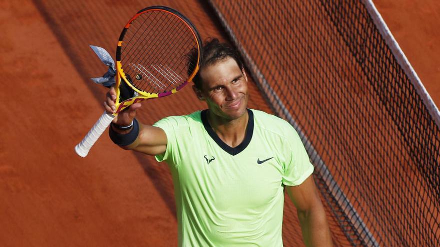 Nadal supera a Schwartzman y alcanza sus decimocuartas semis en Roland Garros