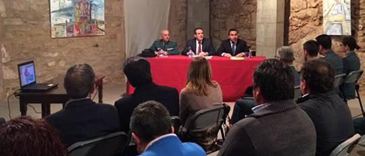 Las infracciones penales caen un 18 % en l'Alcalatén y la Plana Alta