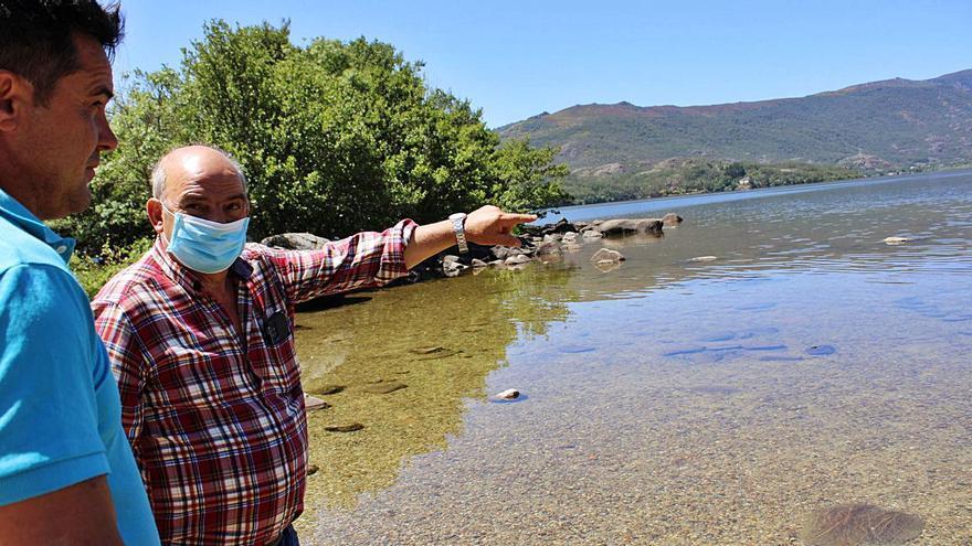 Las playas del Lago de Sanabria se preparan para recibir al turismo