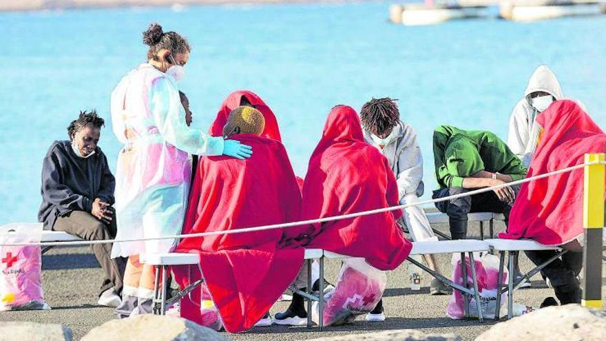 Fuerteventura acoge a 31 supervivientes de un viaje iniciado por 42 migrantes
