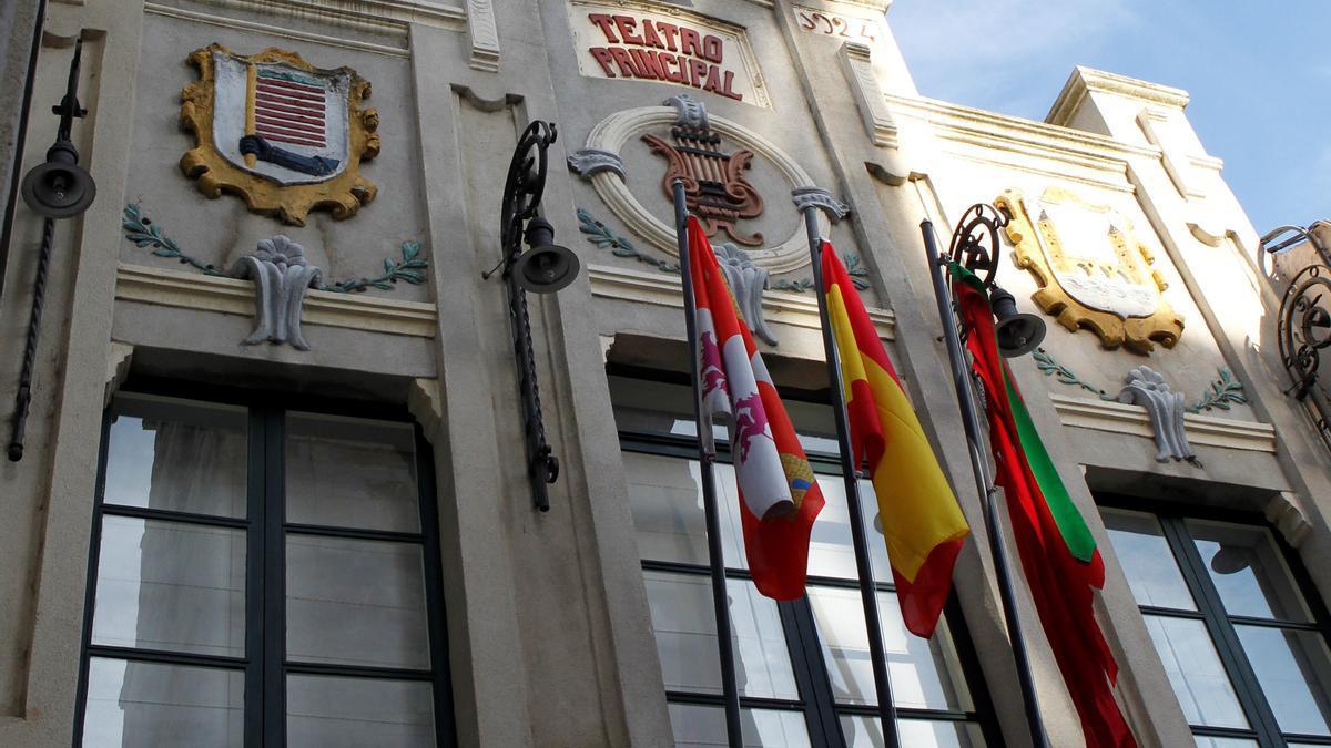 Fachada del Teatro Principal de Zamora.