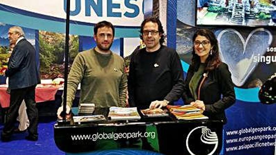 El Geoparc de la Catalunya Central i el Bages es promocionen a Fitur