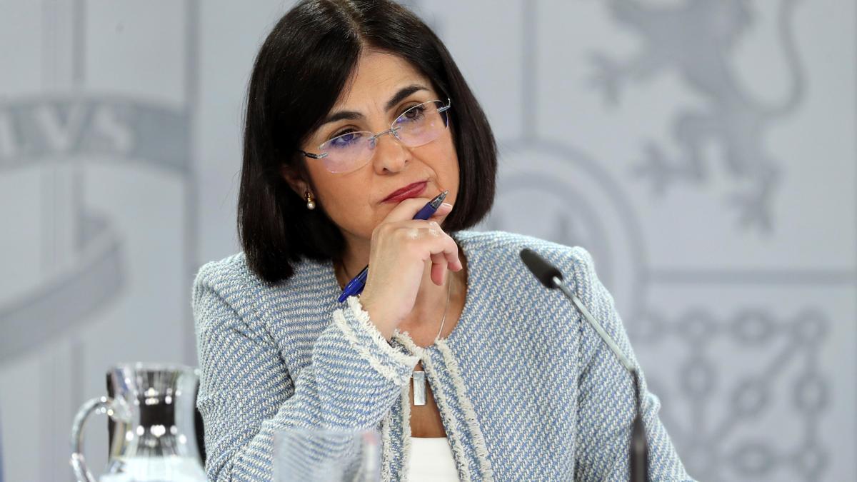 La  ministra Carolina Darias en una imagen de archivo.