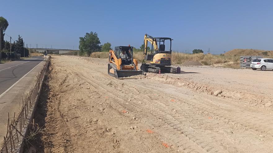 Vilafant adequa els terrenys per a la construcció de l'institut