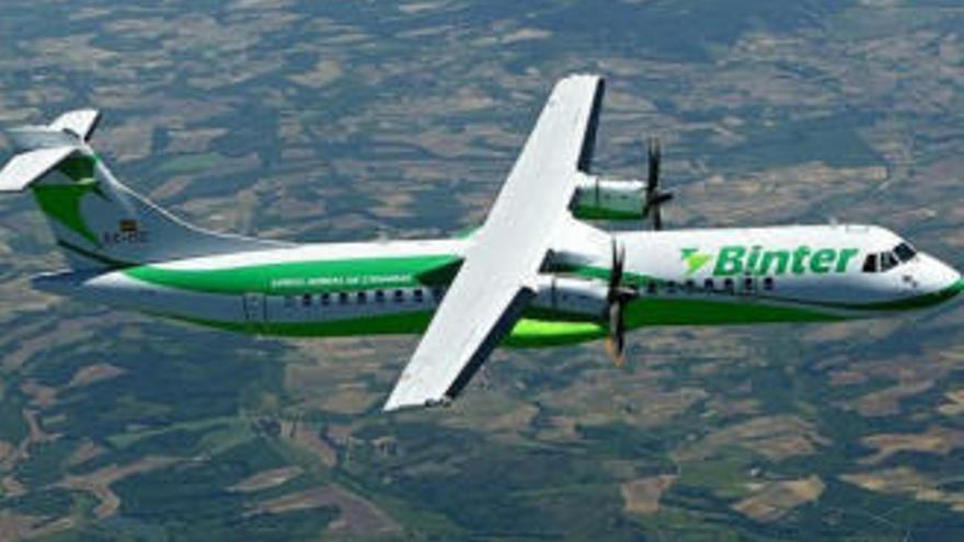 El fuerte viento en Santander impide el aterrizaje de un vuelo de Binter que salió del aeropuerto Tenerife Norte