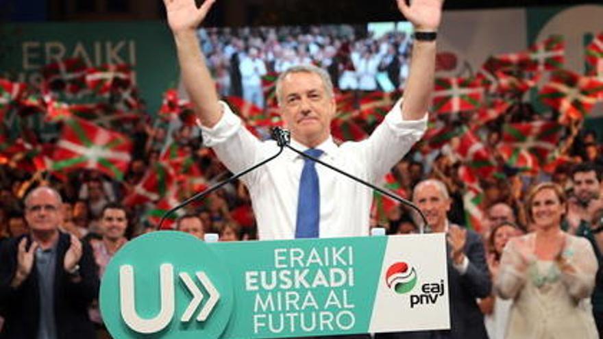 Victòria clara del PNB i davallada del PSOE al País Basc