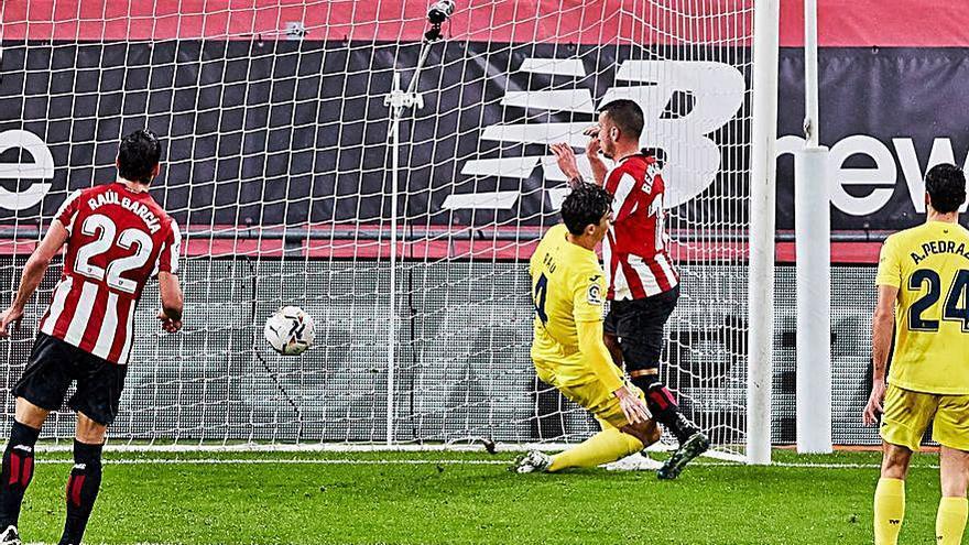 El Villarreal resiste el asedio del Athletic
