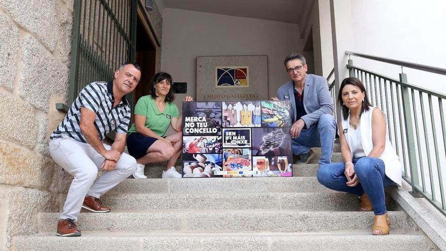 """""""Sen ir máis lonxe"""". O GDR Limia Arnoia lanza unha potente campaña de apoio ao comercio local"""