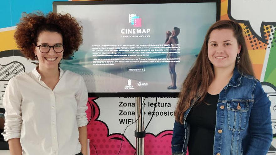 La historia del cine en Gran Canaria cabe en una web