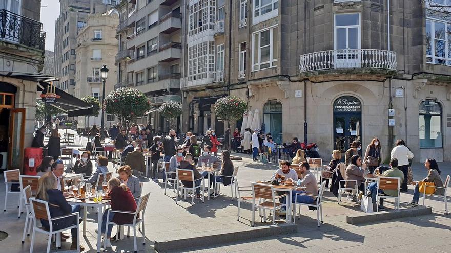 La Policía intensifica los controles en las calles de Vigo tras la alerta de Sanidade