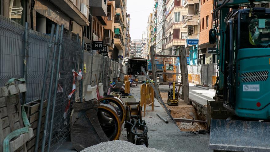 Corte de tráfico por obras en la calle Alemania hasta el 30 de septiembre