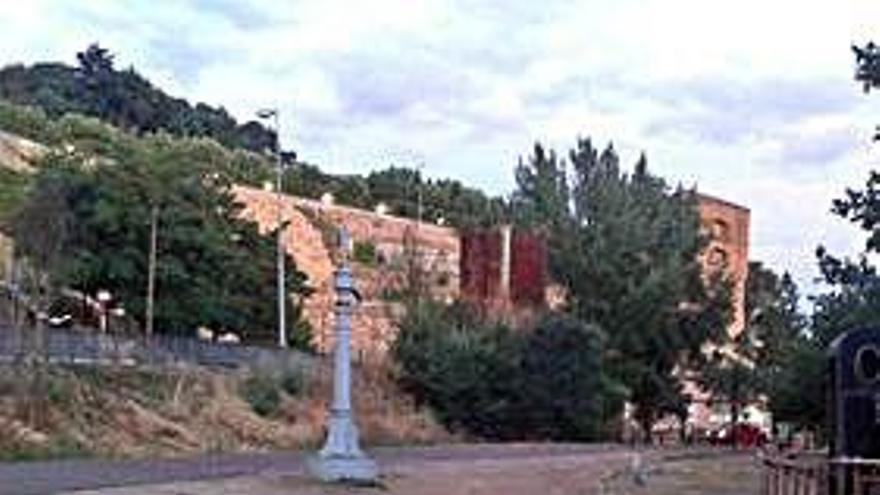 Parte de la Vía Verde en Benavente.