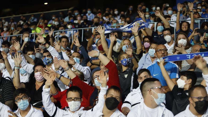 En directo: Málaga CF - Real Zaragoza