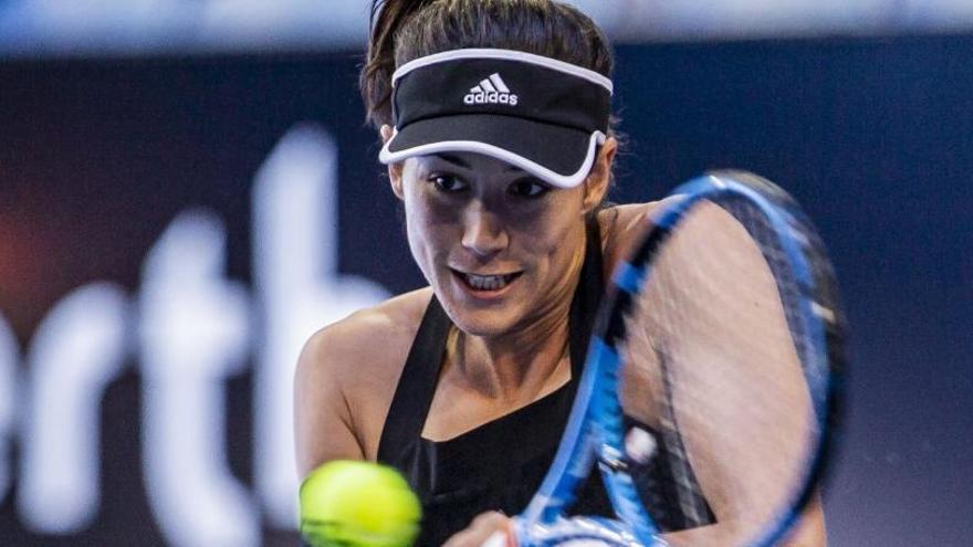 Muguruza abandona el torneo de Sídney por gastroenteritis