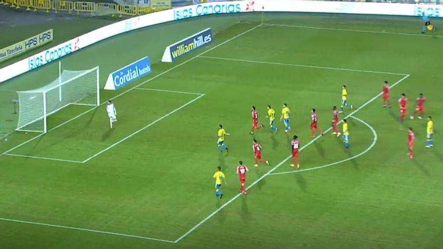 Primer gol de la UD Las Palmas