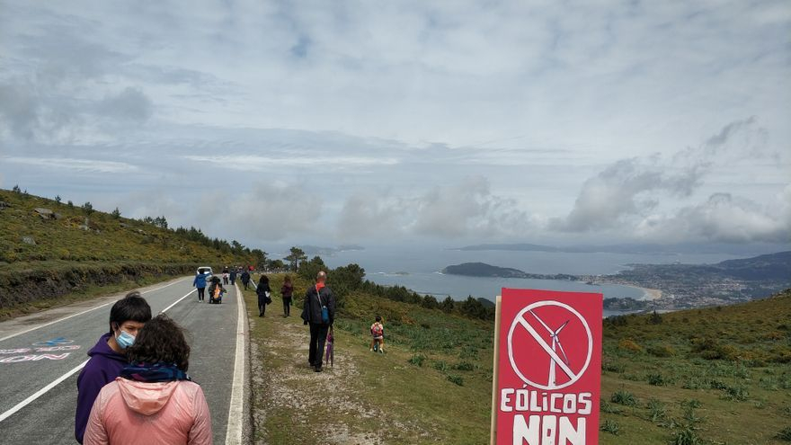 La Xunta acelera el primer parque eólico de la Serra da Groba