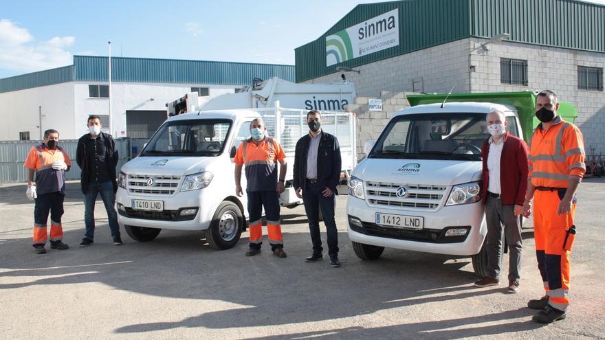 Ondara incorpora dos vehículos ecológicos a la flota de la empresa pública