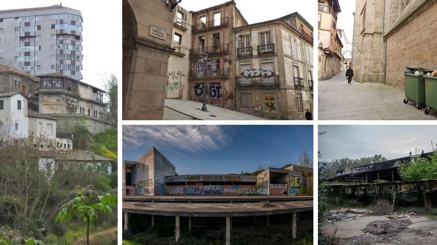 Ruta por el Ourense más degradado