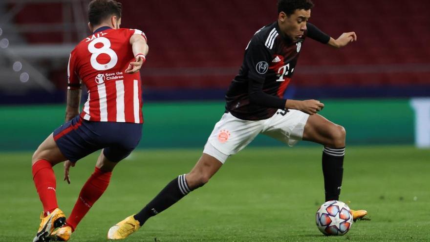 El Bayern de Múnich mantiene al Atlético de Madrid en vilo