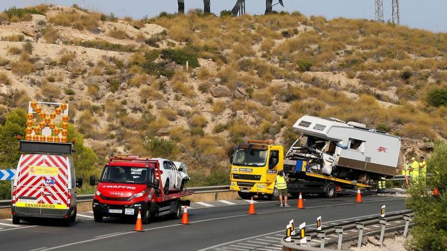 Cuatro fallecidos en las carreteras españolas durante el fin de semana