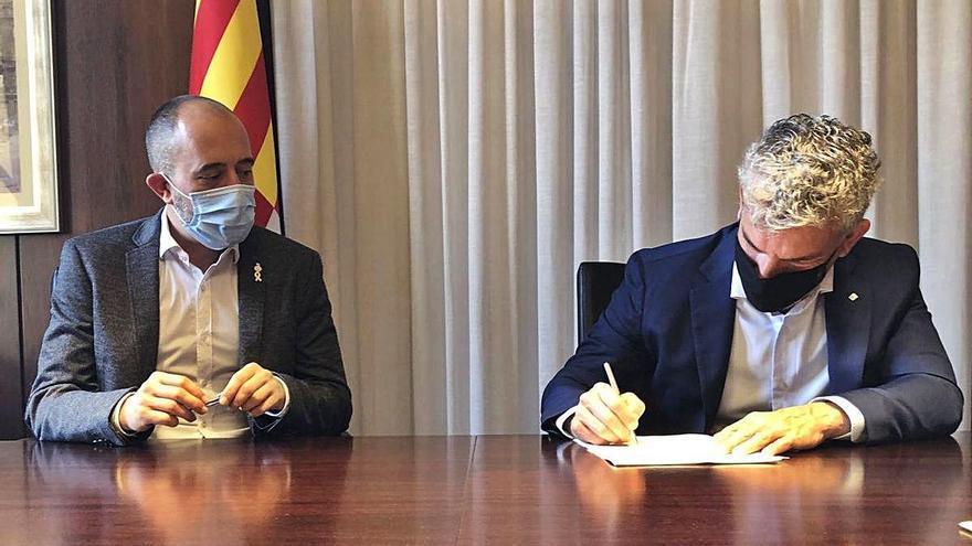 L'Ajuntament paga 1,2 milions a la Generalitat per la compra del terreny de l'edifici Impuls