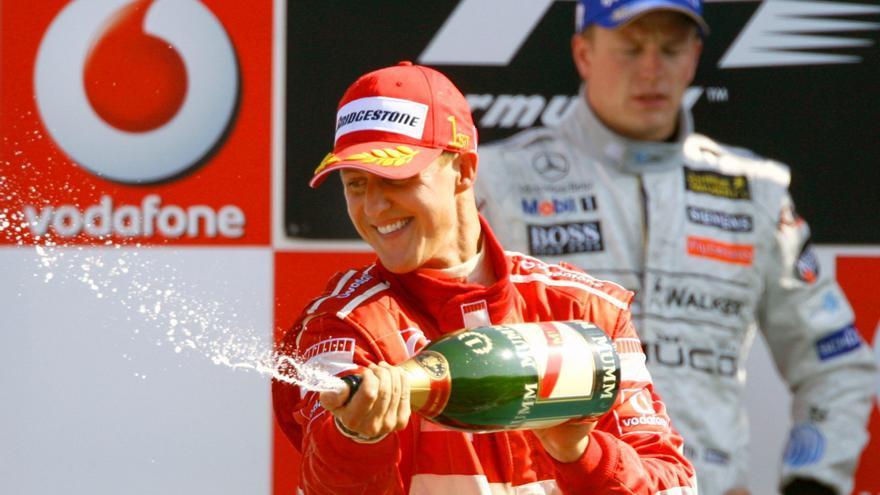 El mal presagio de Schumacher antes del accidente