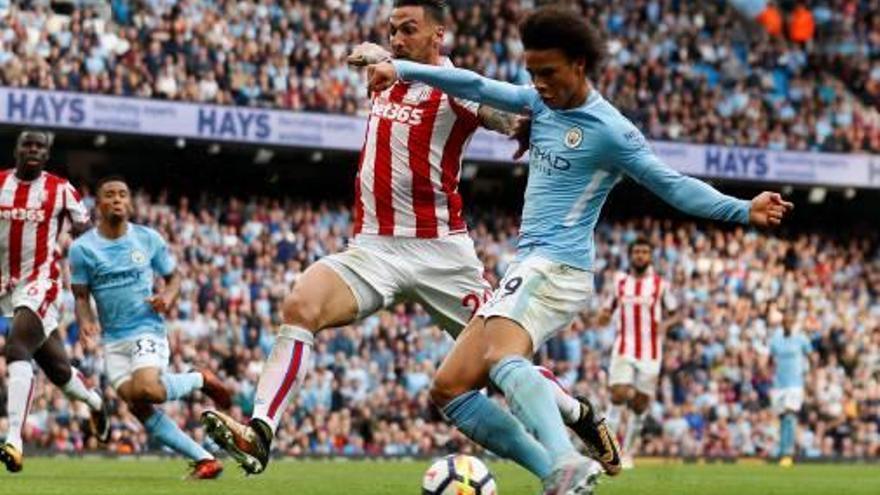 El City exhibeix el seu domini ofensiu davant un tou Stoke