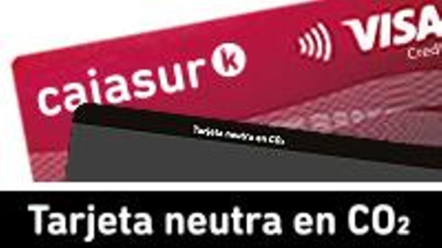 Cajasur renovará sus tarjetas de débito y crédito por un nuevo modelo más sostenible