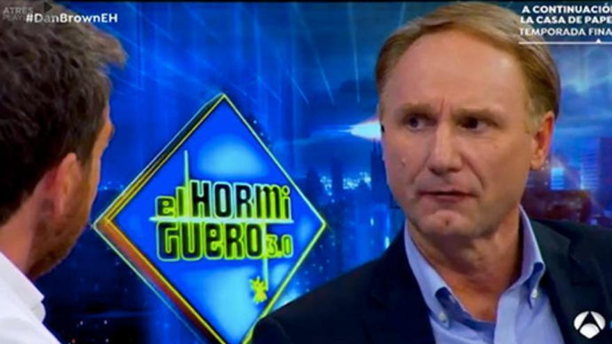 'El Hormiguero': La pregunta que Dan Brown no quiso contestar a Pablo Motos