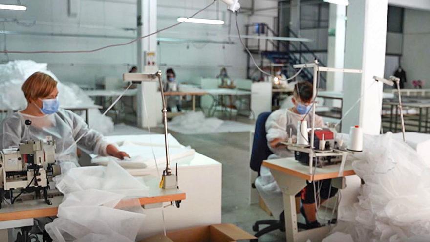 La producción industrial sube un histórico 19,5 %