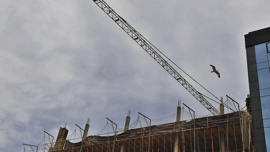 La actividad en la construcción vuelve a crecer en Galicia tras 15 meses en números rojos