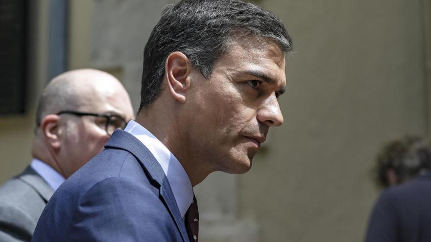 Pedro Sánchez da el pésame a la familia de la mujer muerta en Palma