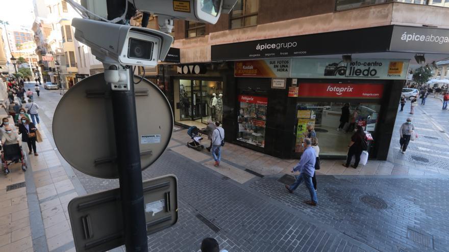 Las cámaras del centro de Castelló seguirán sin multar, al menos, hasta noviembre