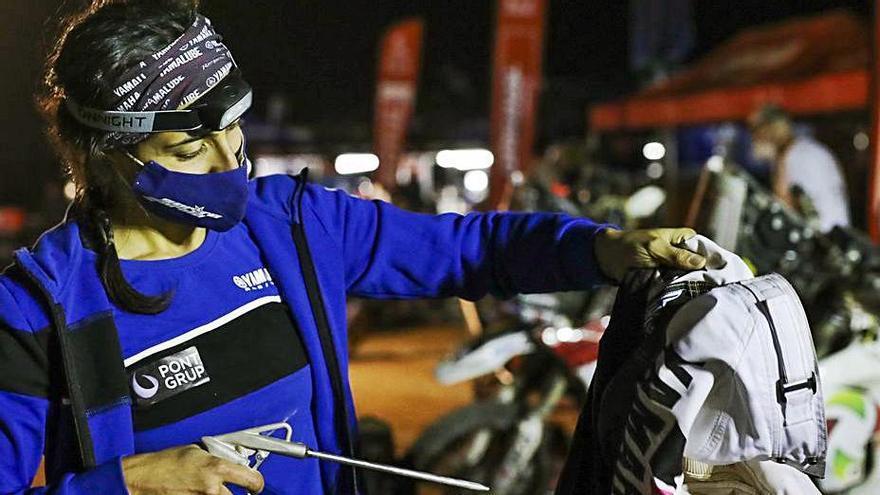 Sara García, preparada para la semana decisiva en el Rally Dakar