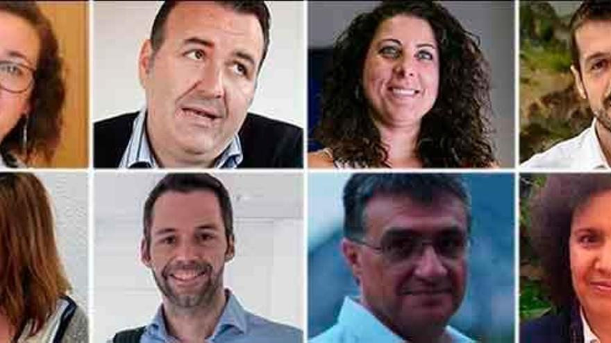 Der neue Stadtrat von Palma steht