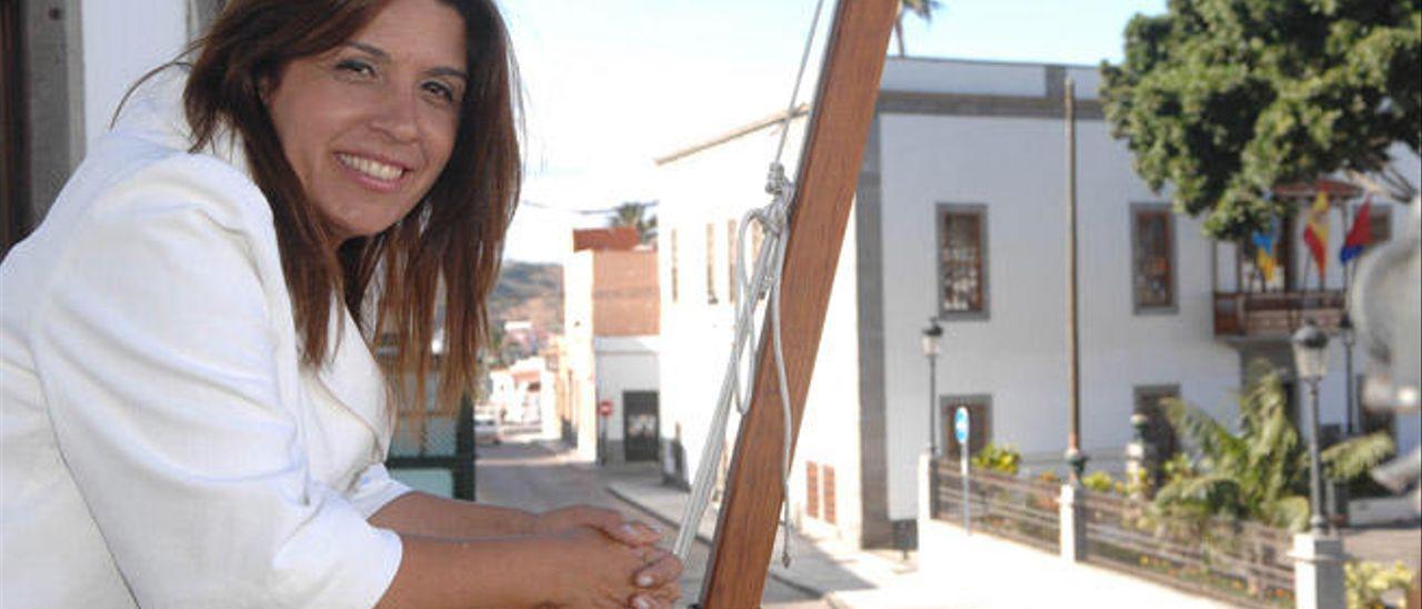 Carmen Hernández, exalcaldesa de Telde