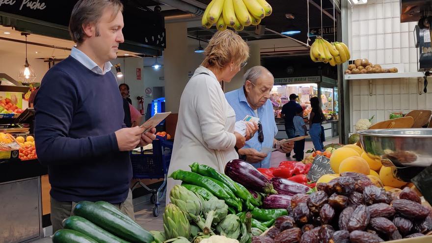 Compromís insta a Comercio a organizar los actos por el centenario del Mercado Central de Alicante