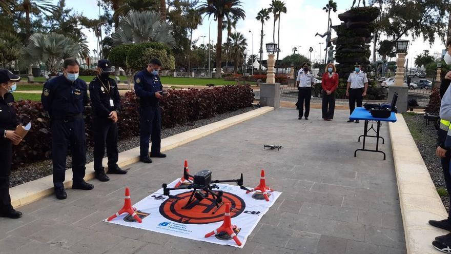 La Jefatura de la Policía Nacional de Canarias se servirá de drones para complementar el trabajo de los helicópteros